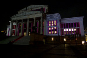 Gendarmenmarkt_Berlin_Projection Mapping